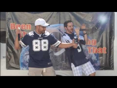 chargers vs. cowboys karaoke tailgate party