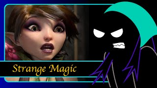 "Celly ""reviews"" (rants / vents about) Strange Magic (with Sock Puppets)"