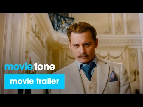 'Mortdecai'  2015: Johnny Depp, Gwyneth Paltrow