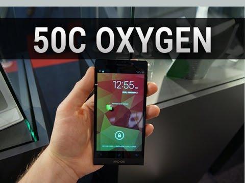 Archos 50c Oxygen, prise en main au MWC 2014 - par Test-Mobile.fr