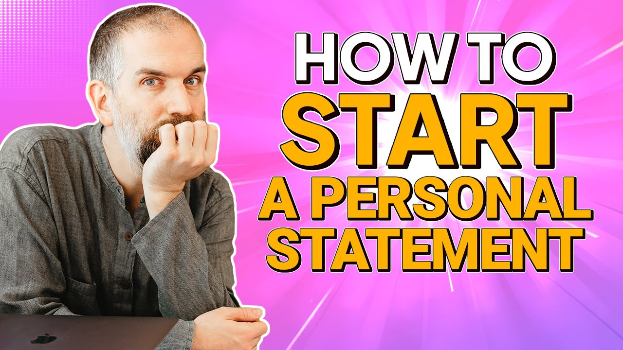 how to start personal statement for college