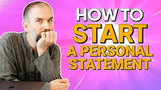 How to make your personal statement STAND OUT  UCAS series        Here are five things to bear in mind when writing your personal statement