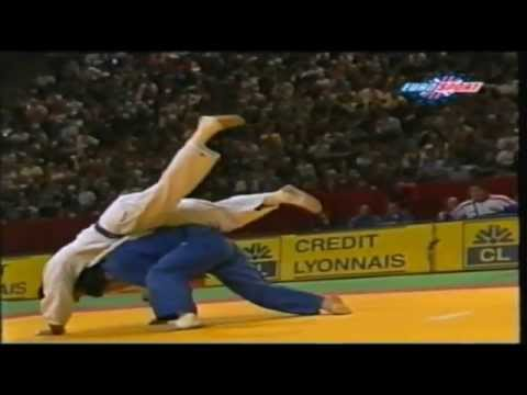World Championship Judo Kosei Inoue V Stephane Traineau