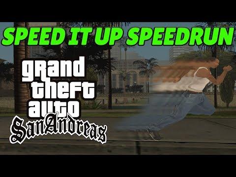GTA San Andreas FAST GAMEPLAY Speedrun