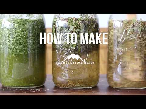 How  to Make Herbal Infusions