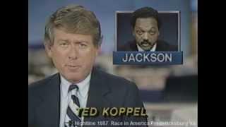 Fredericksburg Virginia on ABC Nightline1988