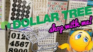 dollar tree shop with me vlog
