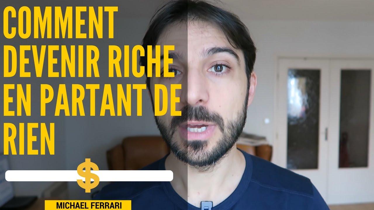 comment être riche sans avoir dargent