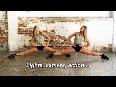 acro ballet PHOTOSHOOT   The Rybka Twins