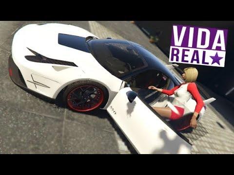 GTA V:  VIDA REAL - ROUBEI A FERRARI DA VIZINHA?!?! #163