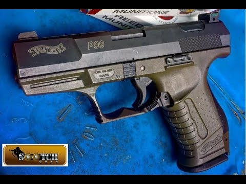 Walther P99 AS Pistol Review