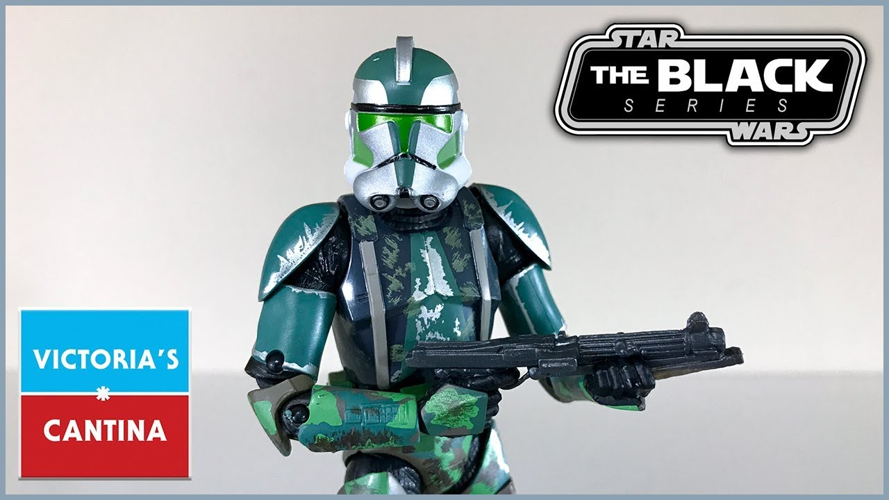 STAR WARS The Black Series CLONE COMMANDER GREE 6 inch Action Figure NEW
