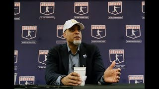 MLB union chief Tony Clark on rumors of 2022 strike