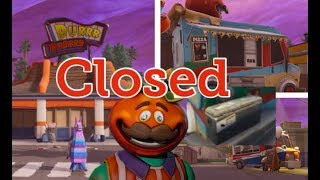 Durrr Burger CLOSED! Tomato Head Sabotaged it. New Food Trucks - Fortnite Battle Royal