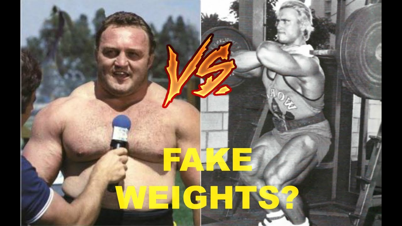 bill kazmaier accuses tom platz of fake weights youtube. Black Bedroom Furniture Sets. Home Design Ideas