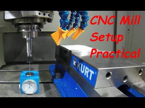 CNC Mill Setting Tool and Work Offsets Practical