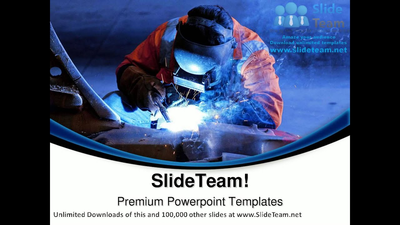 welding industrial powerpoint templates themes and backgrounds ppt, Modern powerpoint