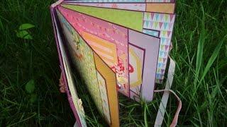 Альбом - книга пожеланий - Скрапбукинг мастер-класс / Aida Handmade