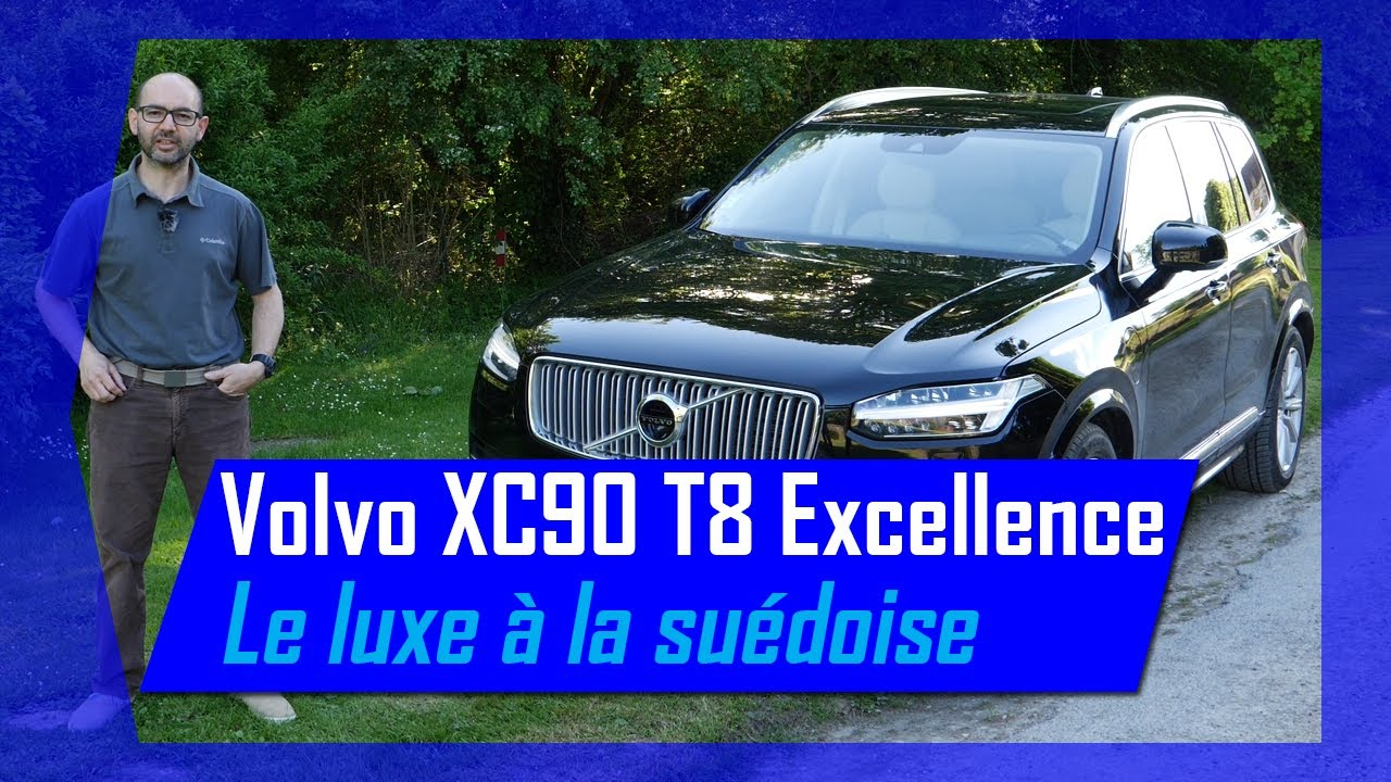 essai volvo xc90 t8 twin engine excellence hybrid life youtube. Black Bedroom Furniture Sets. Home Design Ideas