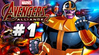 Marvel: Avengers Alliance 2 - #1 - NOVO JOGO DA MARVEL!!