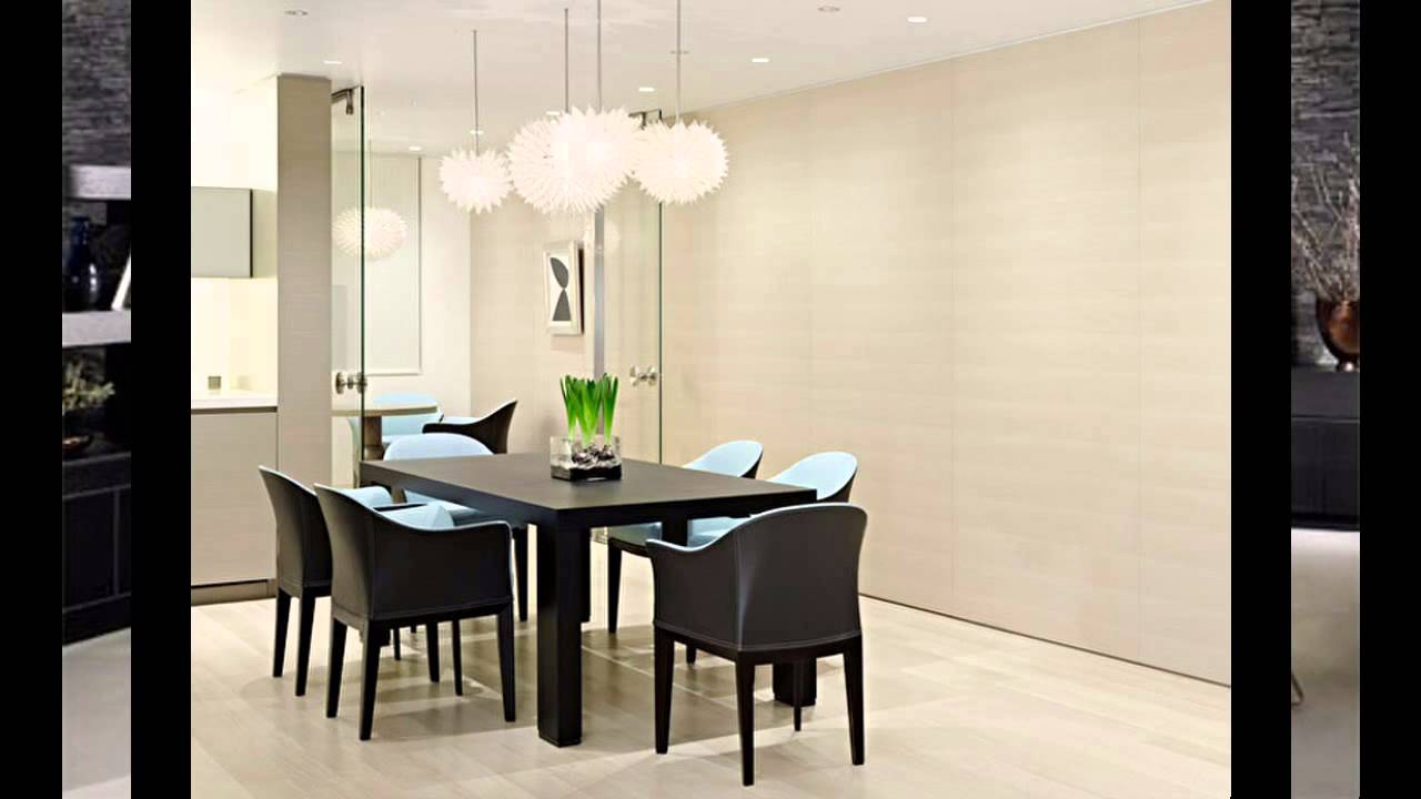 elegant modern dining room decorating ideas - youtube