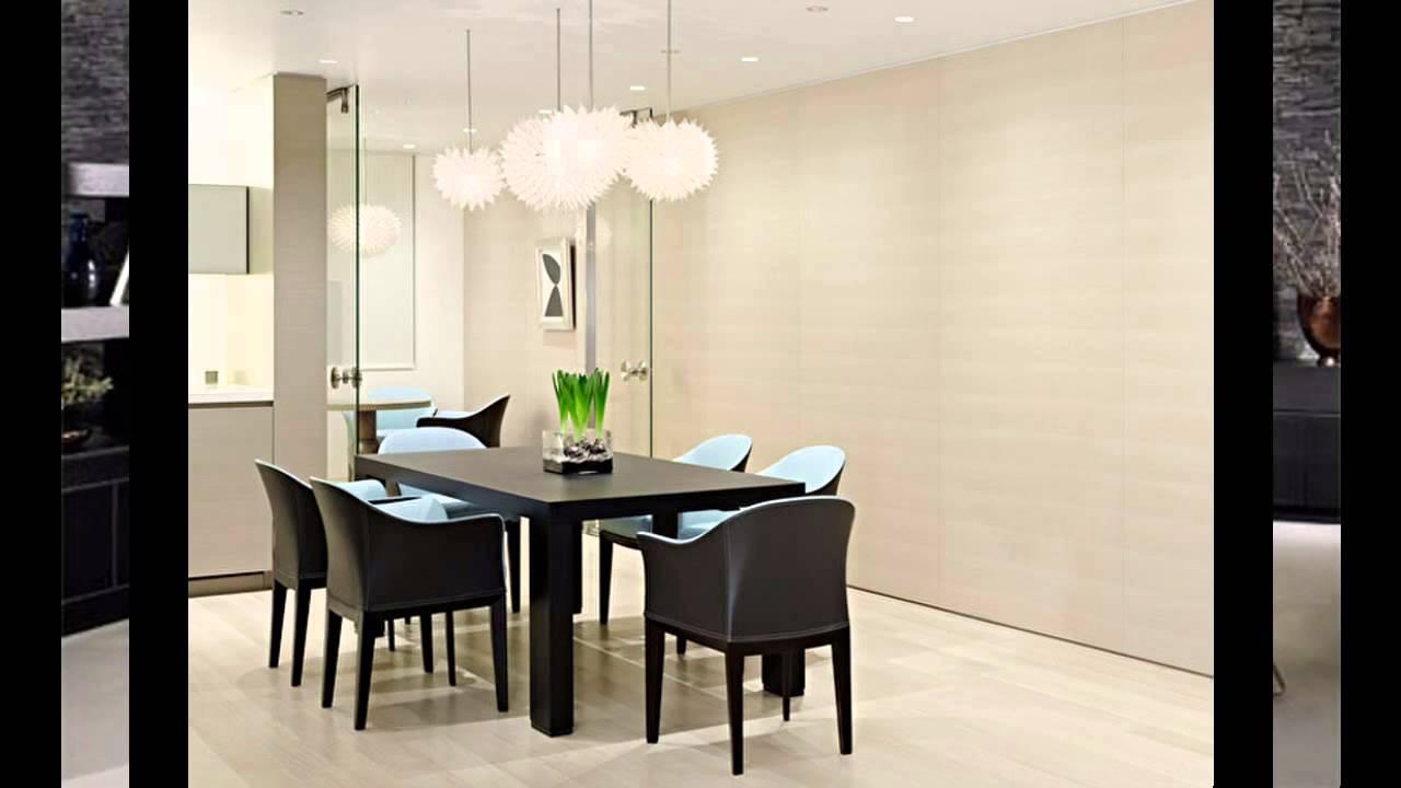 Elegant Modern Dining Room Decorating Ideas