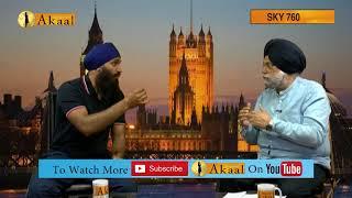 Mudhe With Dr Jagbir On sikh issues in India (Karnataka, Kashmir, Shillong)