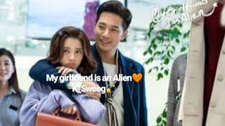 My GirlFriend is an Alien - ''Hometown-Smile''💜//💛حبيبتي فضائية اجمل قصة حب صينية