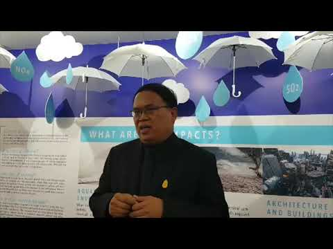 Conversation with Mr Wijarn Simachaya, Ministry of Natural Resources and Environment, Thailand