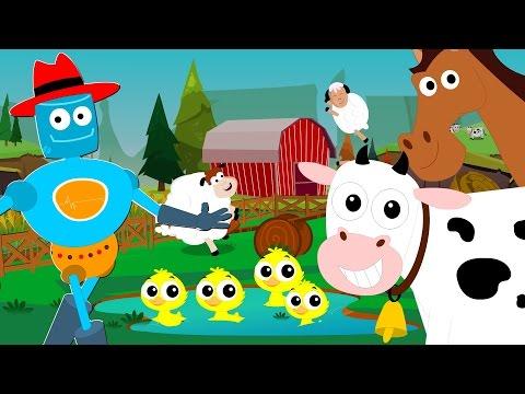 old macdonald had a farm | animal sounds song | nursery rhymes | baby songs | kids tv