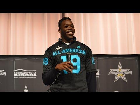 Zach Harrison: Ohio State prospect recieves All-American Game jersey, provides recruiting update