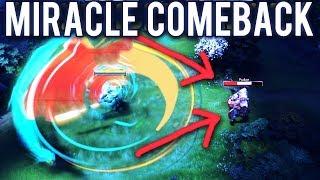 Miracle Juggernaut 30 Kills Most Biggest Comeback EVER! 24Min at Radiane Throne 44Min GG 7.07 Dota 2