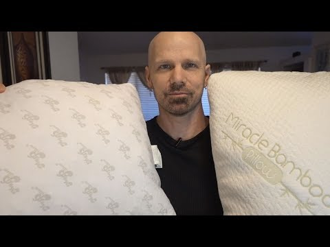 Miracle Bamboo Pillow vs MyPillow