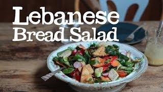 Lebanese Bread Salad | Abel & Cole