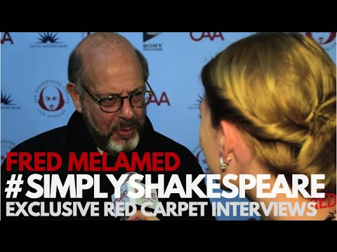 Fred Melamed interviewed at the 26th Annual Simply Shakespeare Benefit #simplyshakespeare
