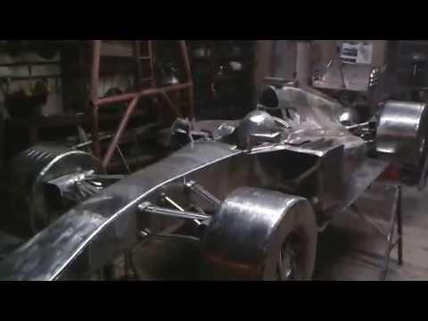 Fórmula 1, em inox tamanho real de 4.8m x 1.8m Ze Vasconcellos Metal SculpturesZe Vasconcellos Metal Sculptures - Metal Sculptures - Campinas - São Paulo - Brasil