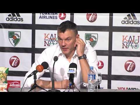 EuroLeague: Žalgiris Kaunas – Baskonia Vitoria press conference