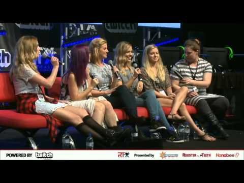 Rooster Teeth RTX Australia 2016 Ladies of RT