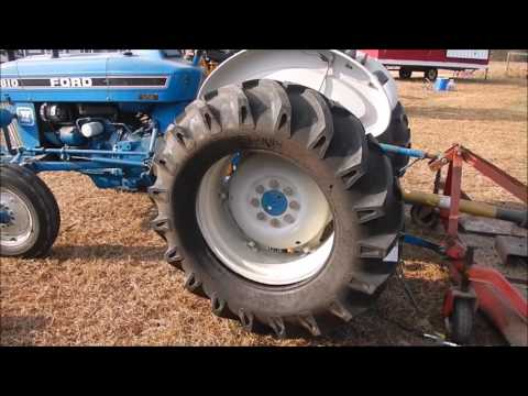 Changing A Tractor Tire With Ballast