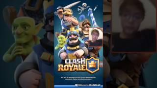 Clash royale, Clash of clans e pewdipie tuber simulatore