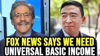 Fox News Host Argues for Andrew Yang's UBI in Response to Coronavirus