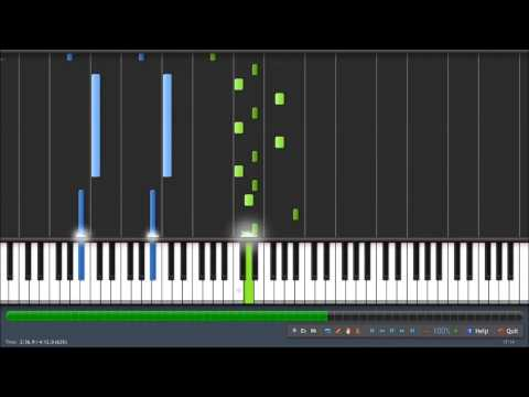 Turning Page Piano Tutorial (Synthesia)