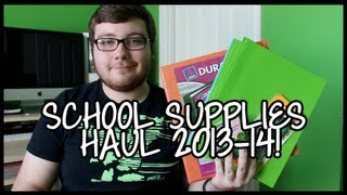 Back to School Supplies Haul 2013-14! Thumbnail