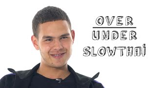 Slowthai Rates Gordon Ramsay, Grand Theft Auto, and Mr. Bean | Over/Under