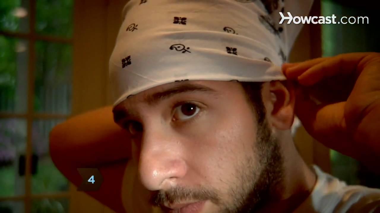How to tie a bandana youtube urmus Choice Image