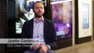 Clear Channel UK CEO talks Amscreen