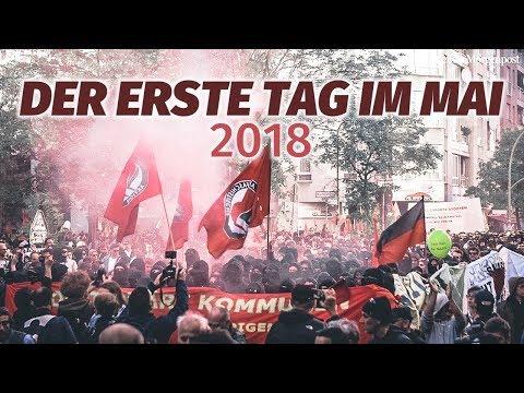 1. Mai 2018 in Berlin - zwischen Demo und Party