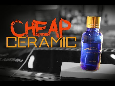 Cheap Ceramic Car Coatings Reviewed Mr Fix 9h Veteran 9h gol