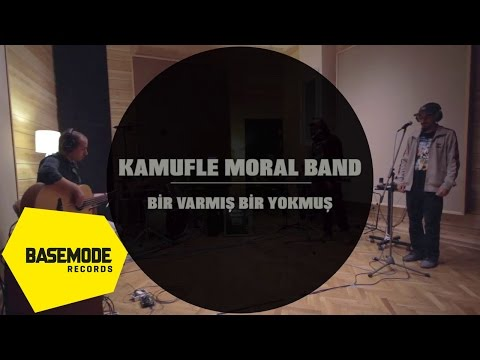 Kamufle Moral Band - Bir Varmış Bir Yokmuş | Studio Session | Video