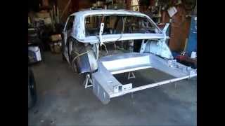 How to install a Dynacorn floor pan in your 1965-1970 Mustang part 2